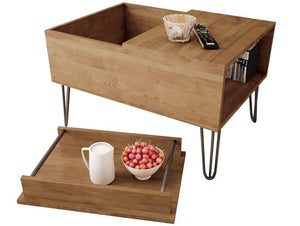Bau cofee table with removable tray