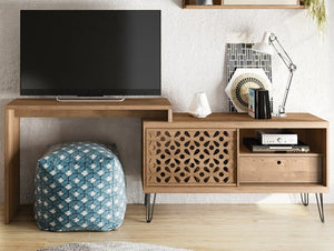 Living Room TV Stand Frizz 1.20 with country design