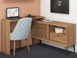 Home office Desk Frizz 1.20 with country design