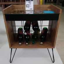 Load image into Gallery viewer, Wine Rack Cellar Chic design