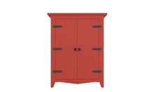 Load image into Gallery viewer, Red Armoire cabinet