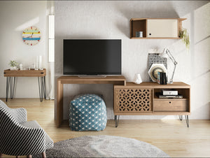 Frizz TV Stand with country chic design