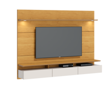 Load image into Gallery viewer, Floating Wall TV Panel + Rack Decore 220