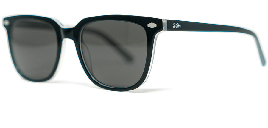 La Brea Grove Ash grey sunglasses - side