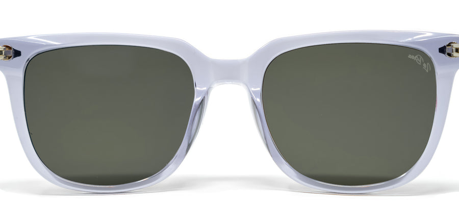 La Brea Grove Dusk clear sunglasses - back