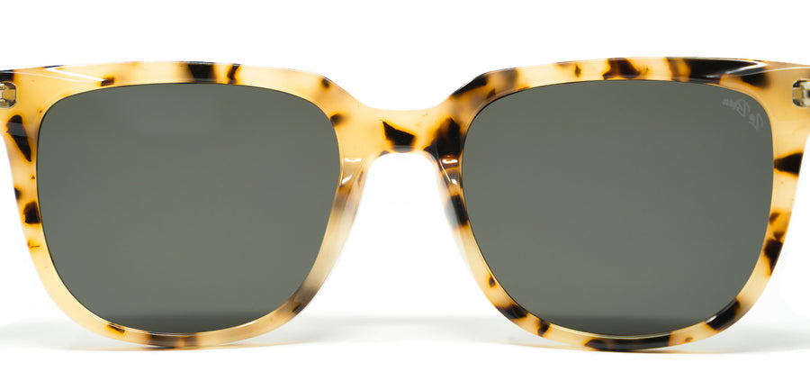 La Brea Grove White Tortoise sunglasses - back