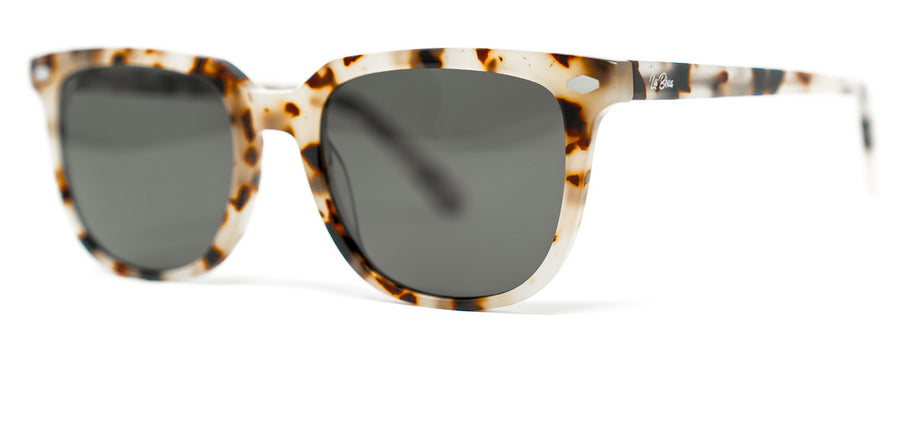 La Brea Grove White Tortoise sunglasses - side