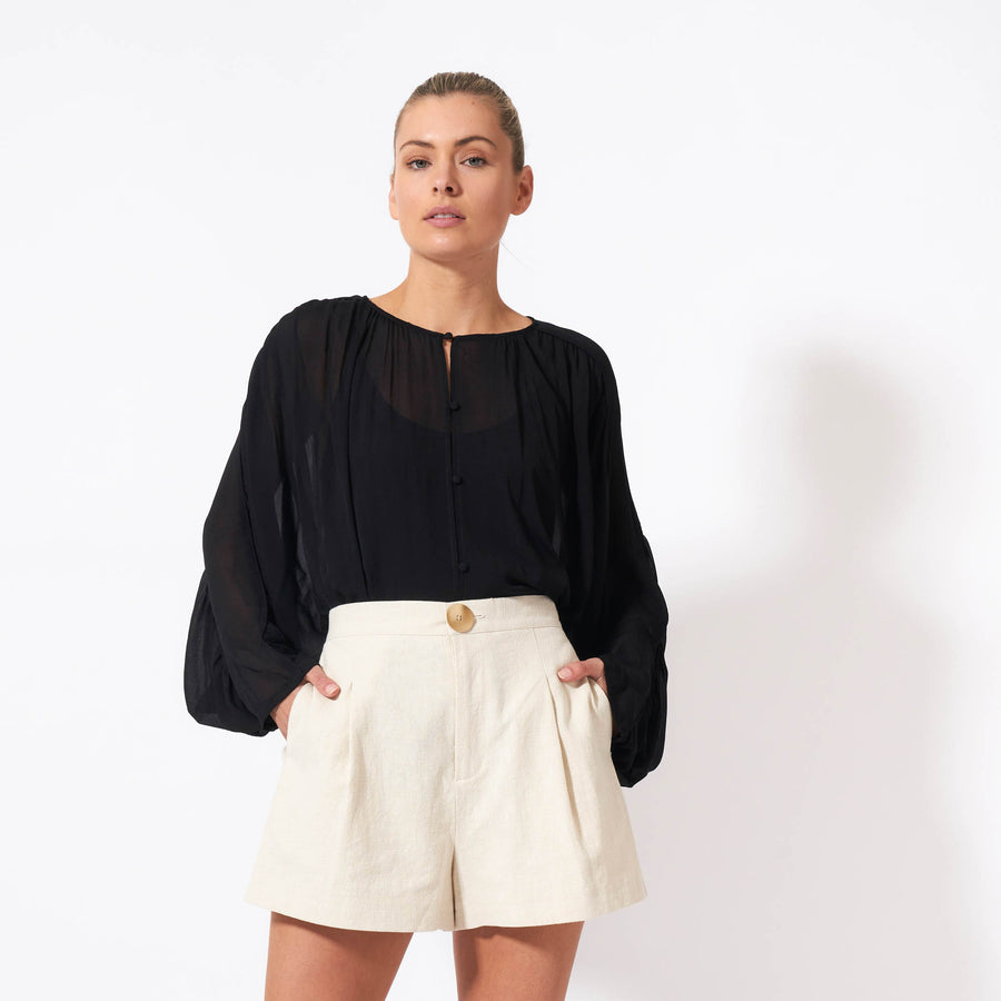Wuthering Heights Top - Black