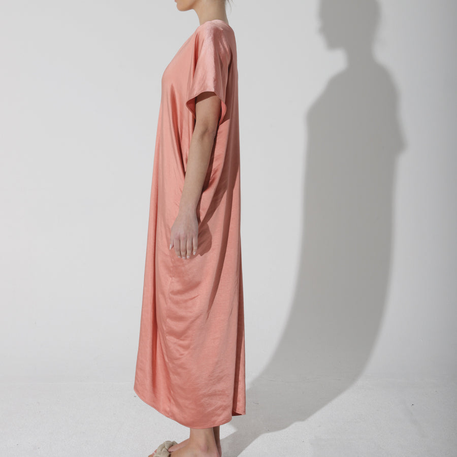 Before Midnight Dress - Spiced Peach