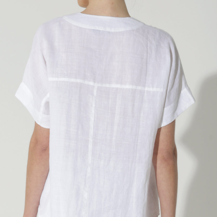 The Sand Pebble Top - White
