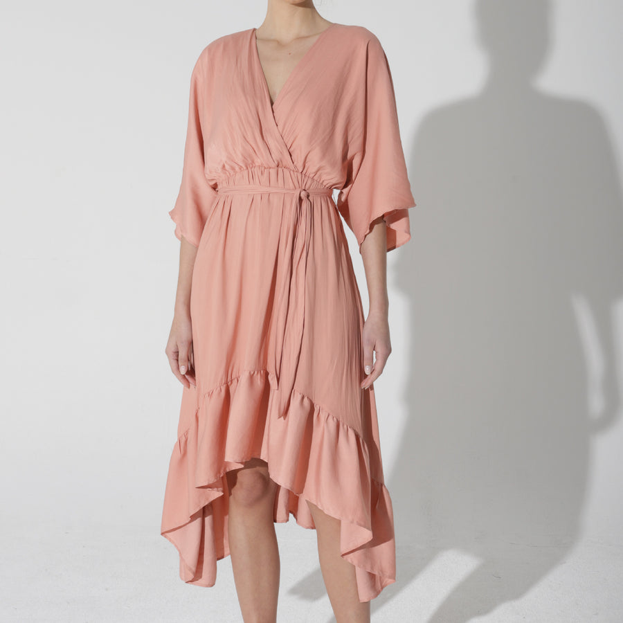 Worship Dress - Spiced Peach