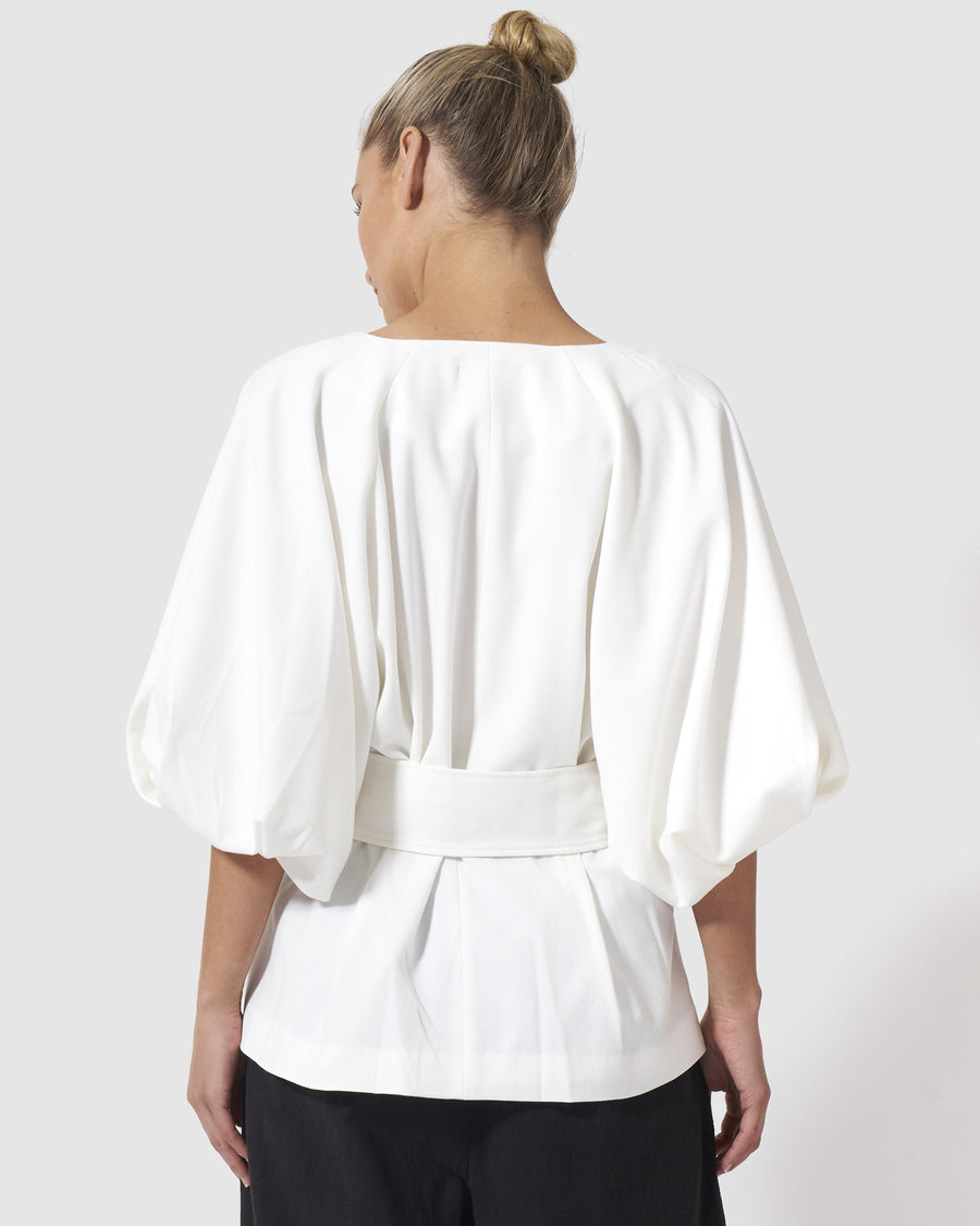 The Lady Eve Jacket - White