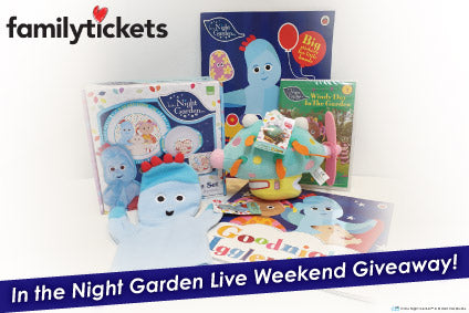 Win In the Night Garden Live Toys In Our 2020 Tour Giveaway!