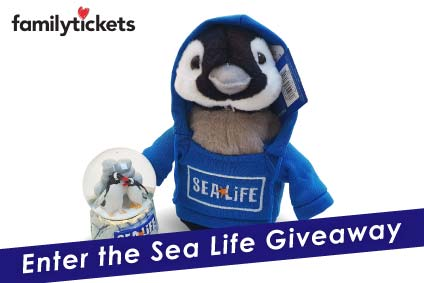 WIN fantastic gifts in the Family Tickets Sea Life Giveaway!