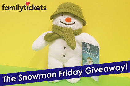 Win A Snowman Soft Toy In Our Friday Giveaway!
