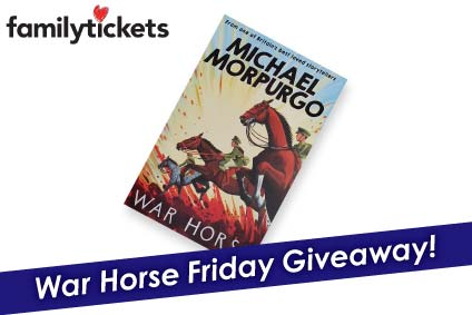 Win a new copy of the War Horse novel in the our Friday Giveaway!