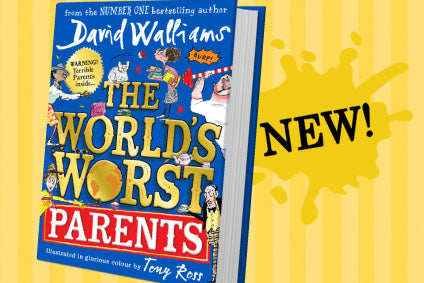 "Win David Walliams' new book ""The World's Worst Parents"" in our giveaway!"