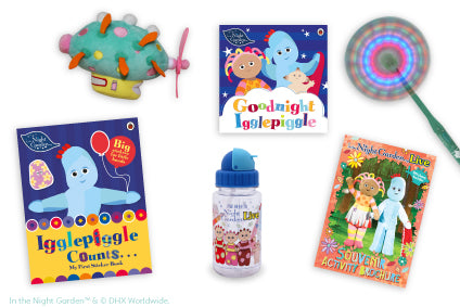 Over £45 worth of Night Garden toys and souvenirs for just £24*!
