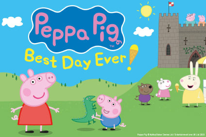 Be the first to hear when Peppa Pig shows go on sale
