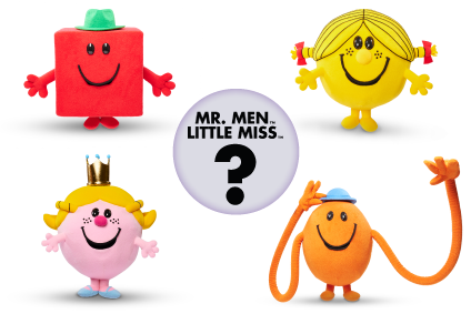 Which Mr Men or Little Miss character are you?