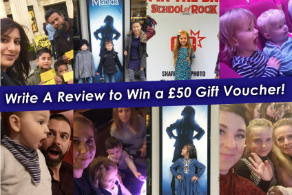 Write A Review to Win a £50 Gift Voucher!