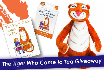 🐯 🎁 Win a The Tiger Who came To Tea Gift Set!