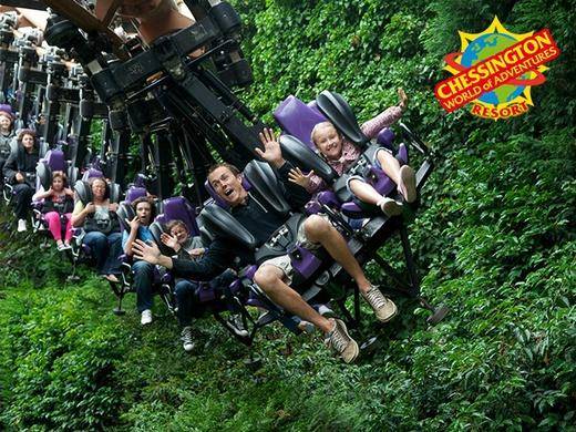 Chessington World of Adventure Resort One Day Entry