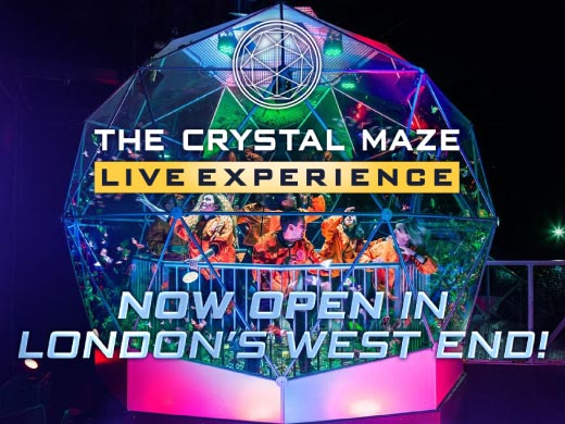 The Crystal Maze LIVE Experience (West End)