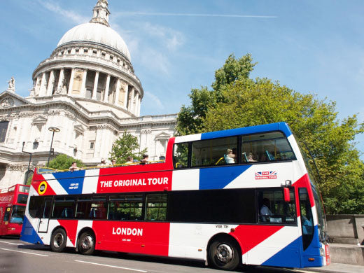The Original London Sightseeing Tour (48hr - Any 2 Days)
