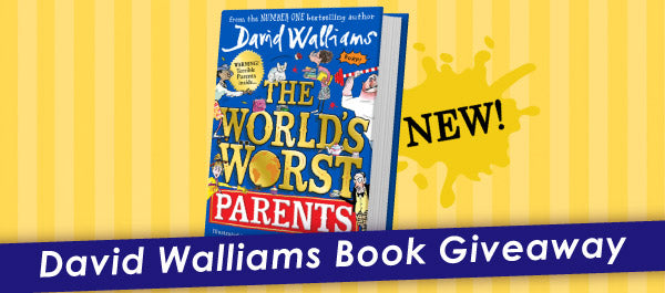 David Walliams Book Giveaway
