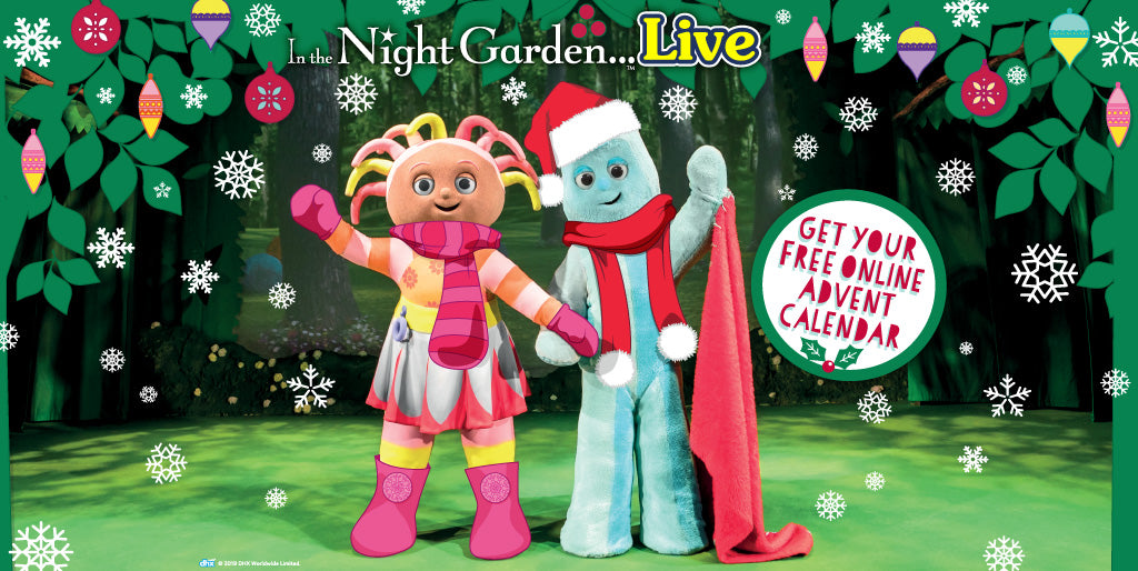 Free online Advent calendar with Igglepiggle and friends