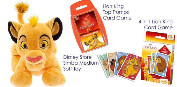 The Lion King gift set giveaway Family Tickets