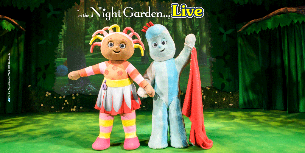 Join Igglepiggle and Upsy Daisy at In the Night Garden Live!