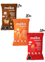 Mix pruébame familiar: 30 maika snacks mix 28g