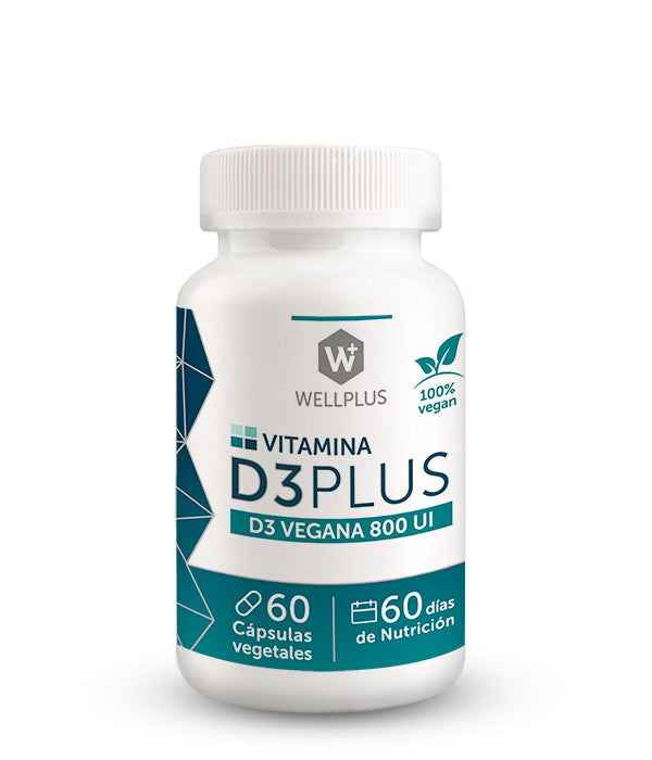 Vitamina D3 Wellplus - 60 caps