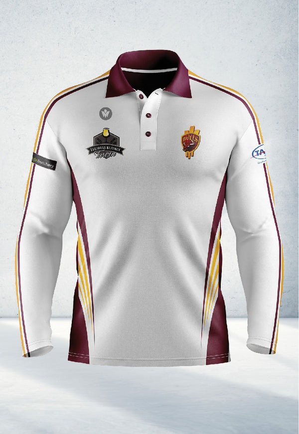 Long Sleeve Polo Shirt – Senior's