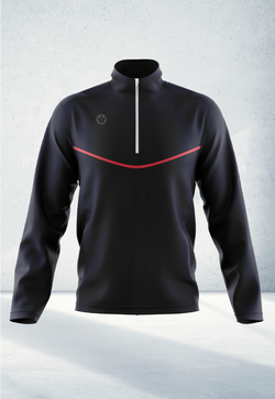 Quarter Zip Warm Up Top