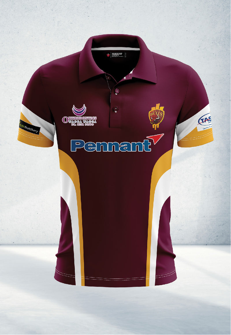 Maroon Polo Shirt – Junior's