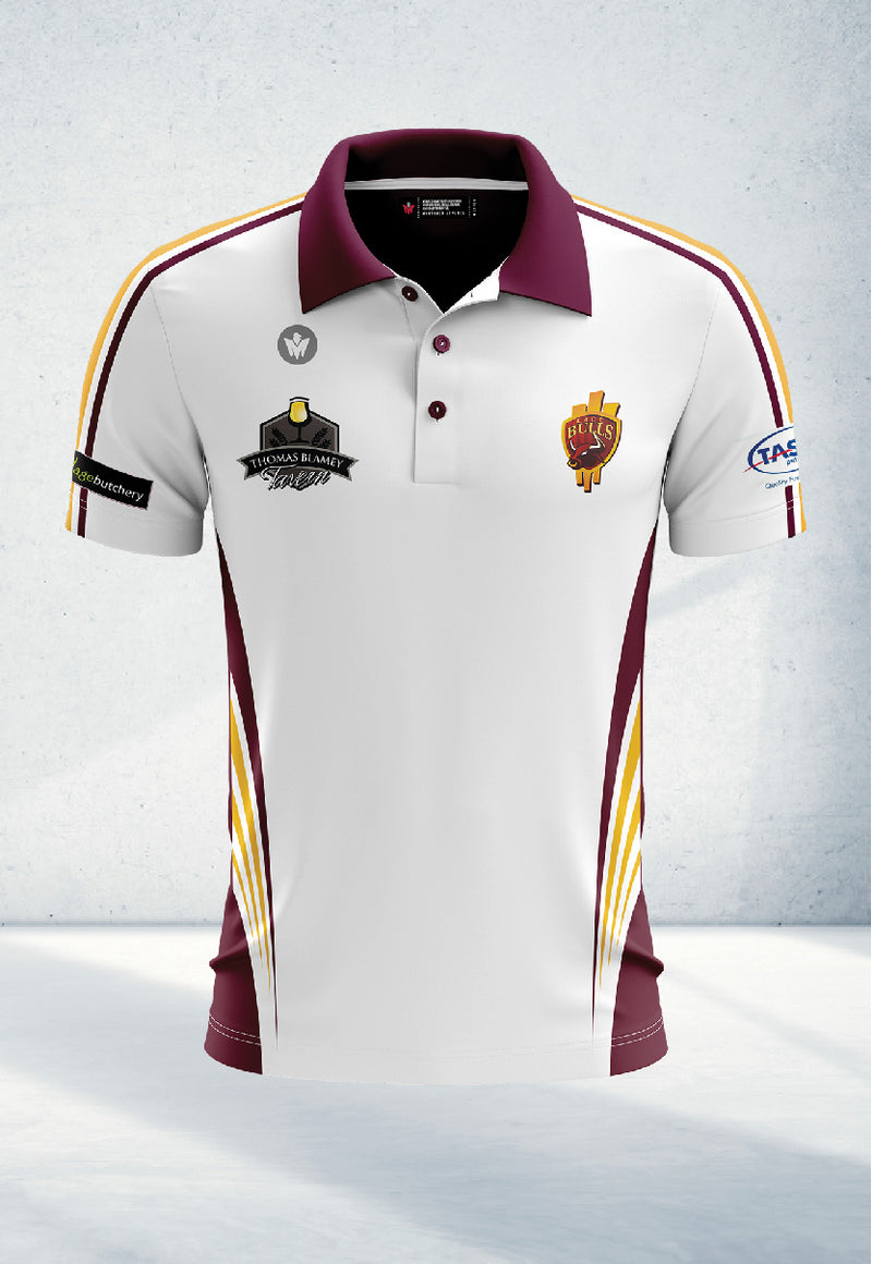 White Polo Shirt – Senior's