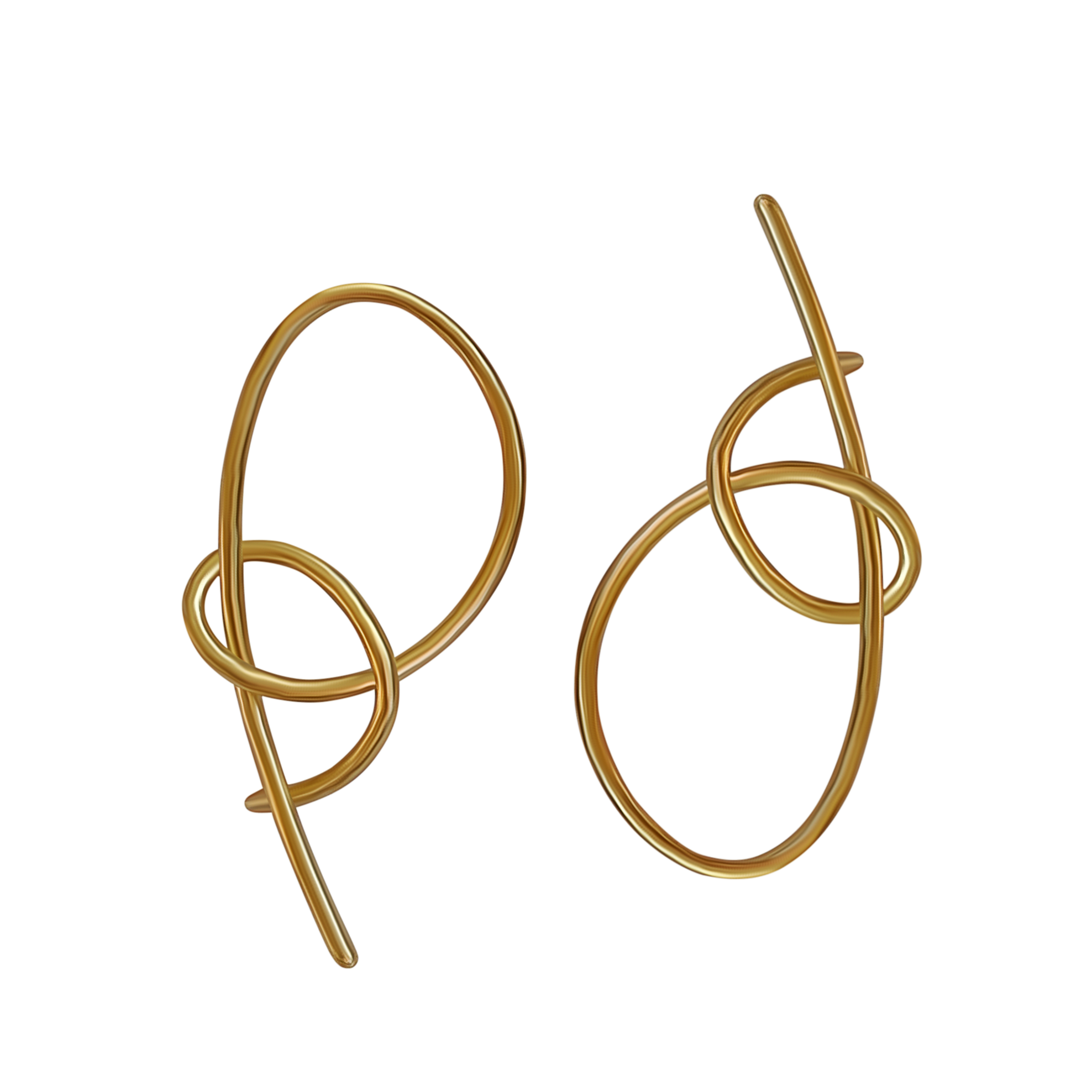 Large Loop Earrings