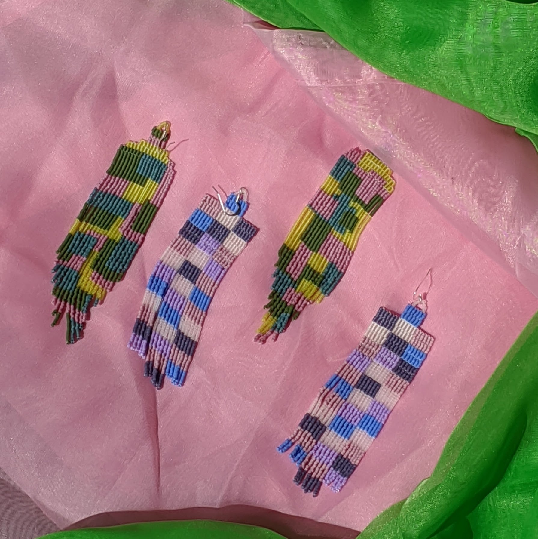 Patchwork Earrings 1