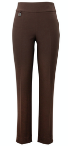 Joseph Ribkoff  Contour Slim Fit Pant.  Chocolate.  -  Sizes:  12  14  16