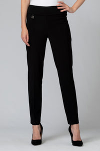 Joseph Ribkoff Black Slim Pant - Sizes:   8 10 12 14 16 18 20 22.