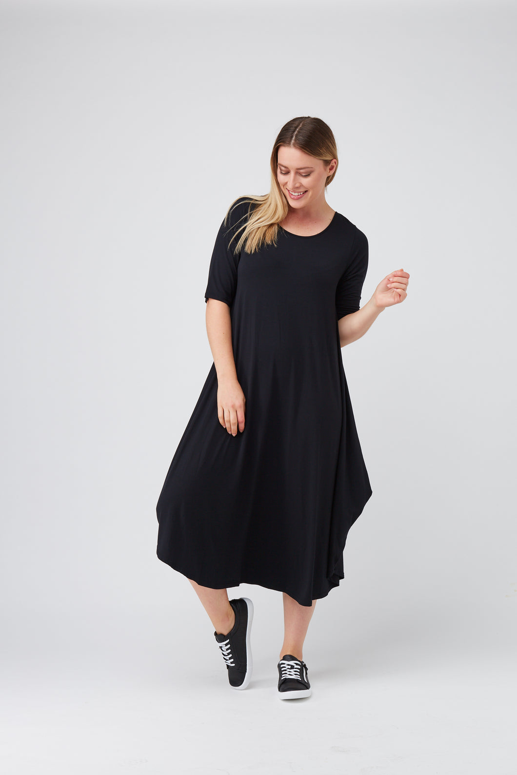 Tani Black Orignial Tri Dress - Sizes 10, 12, 14.
