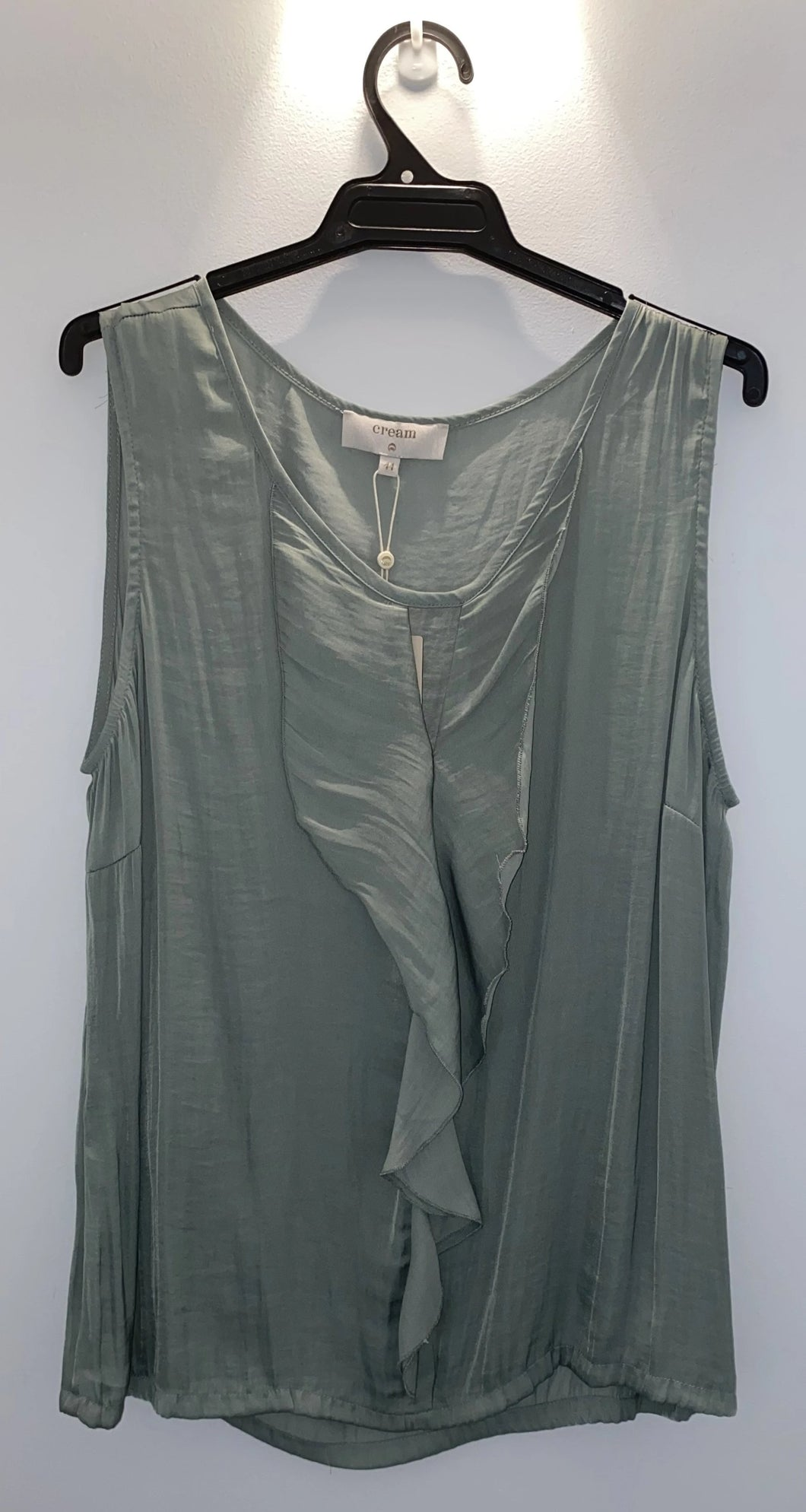SALE CR 118 Fern Sleeveless Waterfall Top