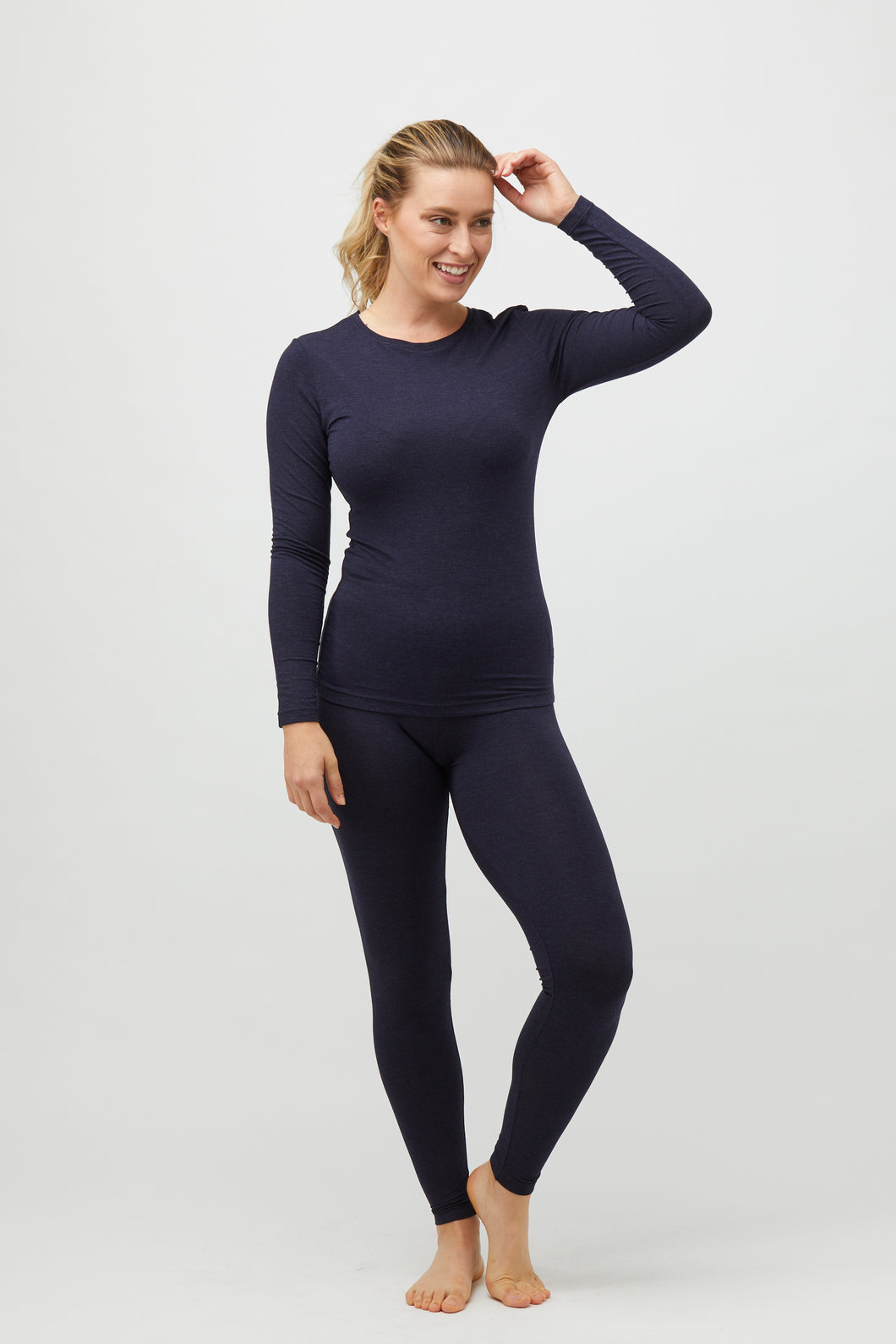 Tani Full Leggings.    Midnight Marl.   Sizes:  S  XL  XXL.