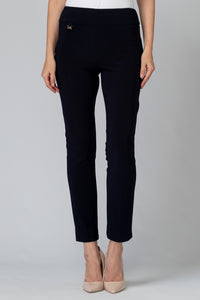 Joseph Ribkoff Navy Slim Pant - Sizes: 10 12 18.
