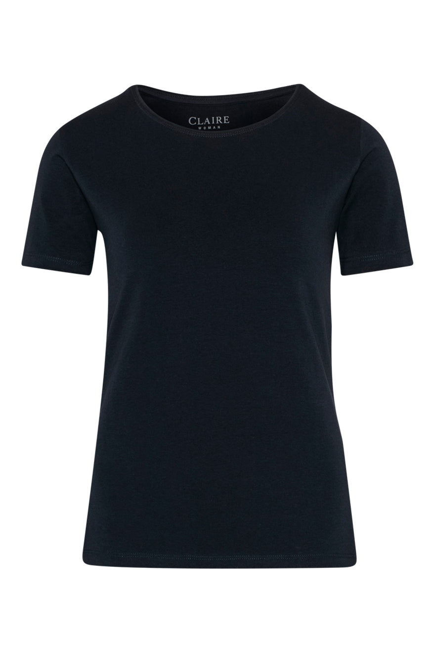 Claire Woman Classic Tee.  Navy.   -   Sizes: 10 16.