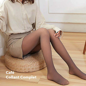 Collant d'Hiver en Laine Polaire - Collant Thermo Confort