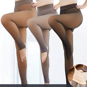 Leggings hiver collant thermo confort